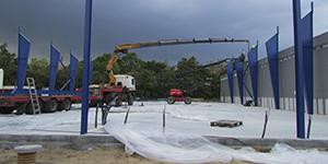 TKT Electronics udvider - bygger 900 kvm tilbygning